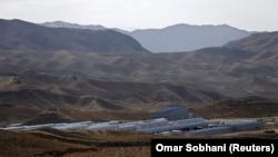 """Ауғанстанның Логар уәлаятындағы """"Мес Айнак"""" кен орнындағы қытай ғимараттары. Архивтен."""