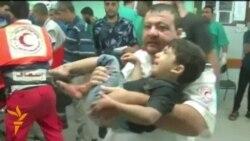 Israeli Shells Strike UN-Run School In Gaza