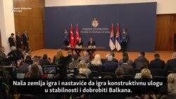Erdoan: Želimo pomoći zemljama Balkana da ostave probleme iza sebe