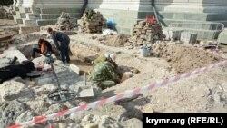 Раскопки в музее-заповеднике «Херсонес Таврический»