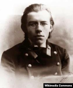 Дмитро Чижевський (1894–1977) під час навчання в гімназії