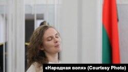 Кацярына Андрэева ў судзе. Менск, 18 лютага.