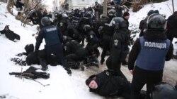 Бійки під Солом'янським судом: як усе було (відео)