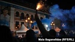 Partidul Visul Georgian celebrează victoria în alegeri