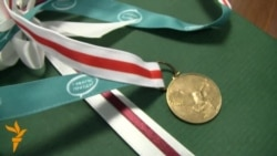 Уручэньне прэміі Сьвятланы Навумавай