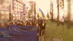 Студент Національного педагогічного університету згадує студентський Євромайдан (відео)