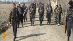 Ремонт опор ЛЭП в провинции Баглан