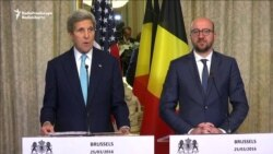 Kerry In Brussels: 'We Will Not Be Intimidated'