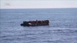 В Средиземном море спасли более двух тысяч мигрантов из Африки