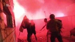 У Києві на місці забудови сталися сутички (відео)