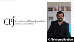Jurnalistul turc Oktay Candemir.