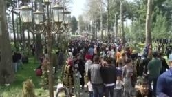 Жители Душанбе отметили Навруз