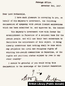 Declarația Balfour