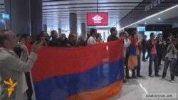 Ֆուտբոլի Հայաստանի հավաքականը վերադարձավ Երեւան