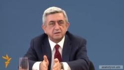 Սերժ Սարգսյան․ «Մենք չենք փորձում որևէ մեկին խաբել կամ մոլորեցնել»