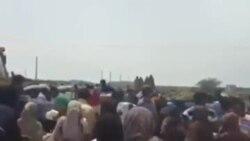هجوم مردم در میناب برای بردن کالا و مواد غذایی