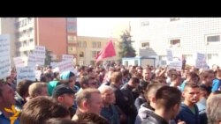 Protestë kundër dhunës