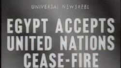 Egiptenii acceptă încetarea focului
