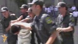 Polis aksiyaya imkan vermədi