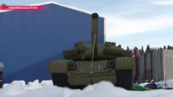 Надувные танки – передовое оружие российской армии (видео)