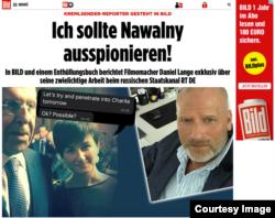 Публикация в газете Bild о Даниэле Ланге со скриншотами его переписки с начальством вызвала паническую реакцию у руководства RT
