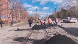 Ремонт дороги после жалобы Путину