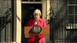 Британский премьер едва сдерживает слезы, объявляя об отставке