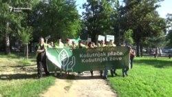 Protest u Košutnjaku: Dva skupa, isti cilj