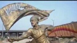 مجسمه های اسب شهر ساری