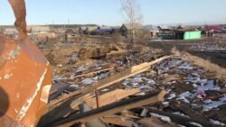 Как встречают зиму в Тулуне после наводнения
