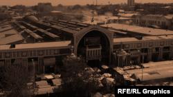 """Рынок """"Панджшанбе"""". Архивное фото"""