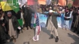 Pakistani Group Burns U.S. Flag After Leader Arrested