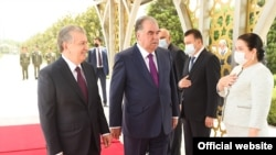 Официальный визит Шавката Мирзиёева в Душанбе
