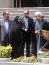 بازدید حسن روحانی و هیئت دولت او از نمایشگاه چالشهای زیستمحیطی، خرداد ۱۳۹۳