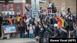 Демонстрация против полицейского насилия в США (архив).