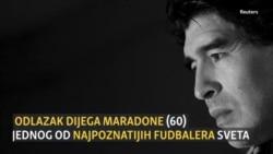 Odlazak Maradone, umetnika fudbala