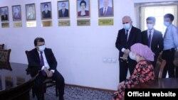 Акс аз саҳифаи Вазорати тандурустии Тоҷикистон дар Фейсбук
