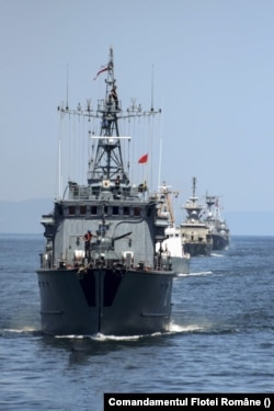 Flota României are doar zece nave care, teoretic, se pot implica în dispute militare în Marea Neagră.