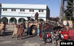 Laşkar Gäh, Helmand welaýatynyň paýtagty hem soňky iki günde synan şäherleriň biri boldy. 13-nji awgust, 2021.