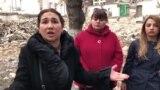 Xətai rayonunda mənzilləri sökülən sakinlər etiraz aksiyasına çıxdılar
