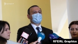 Armen Grigorian, secretary of the Security Council of Armenia. March 25, 2021