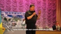 Poroshenko Reassures Mariupol Of Kyiv's Support