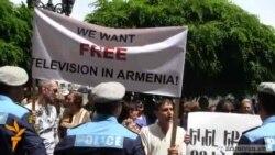 Ակտիվիստները բողոքում են Հայաստանի նկատմամբ Եվրոպայի պահվածքի դեմ