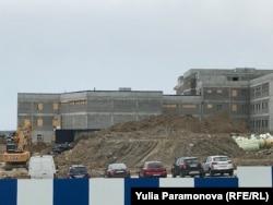 Стройплощадка, апрель 2021