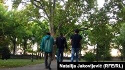Za sada niko od državnih zvaničnika u Srbiji nije javno komentarisao Fronteksovu odluku o povlačenju iz Mađarske. ( Na fotografiji migranti u Subotici, fotoarhiv)