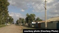 """Село Тугыл Тарбагатайского района Восточно-Казахстанской области, где больше полугода не работает водопроводная система, построенная по программе """"Ак Булак""""."""