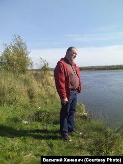 На берегу Оби. Сергей Пархоменко