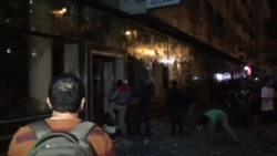 Protestuesit në Maqedoni përleshen me policinë