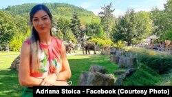 Adriana Stoica - voluntar.