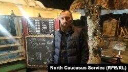 Боксер Асланбек Козаев в своем кафе во Владикавказе